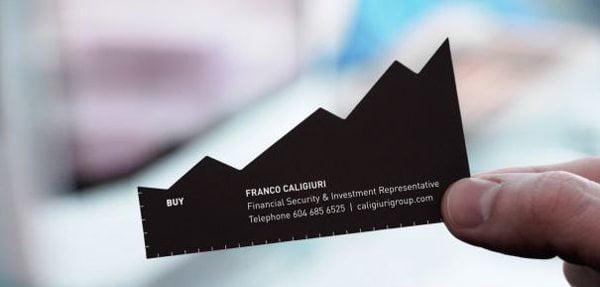 Chart Business Card