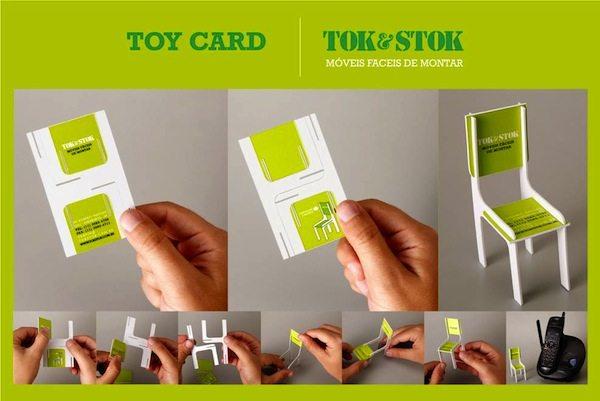 Furniture Manufacturer Business Card