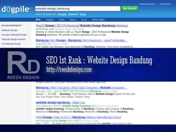 Website Design Bandung