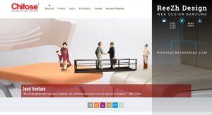 Web Design Bandung PT. Chitose Internasional Tbk
