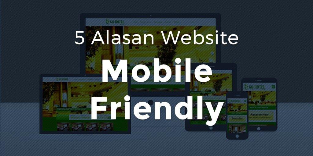 5 Alasan Website Mobile Friendly Twitter