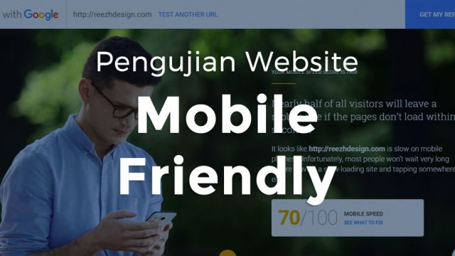 Pengujian Website Mobile Friendly