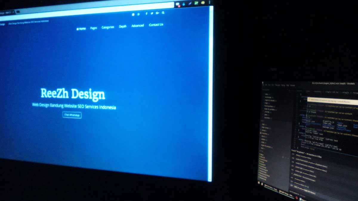 Professional Website Design Bandung Indonesia
