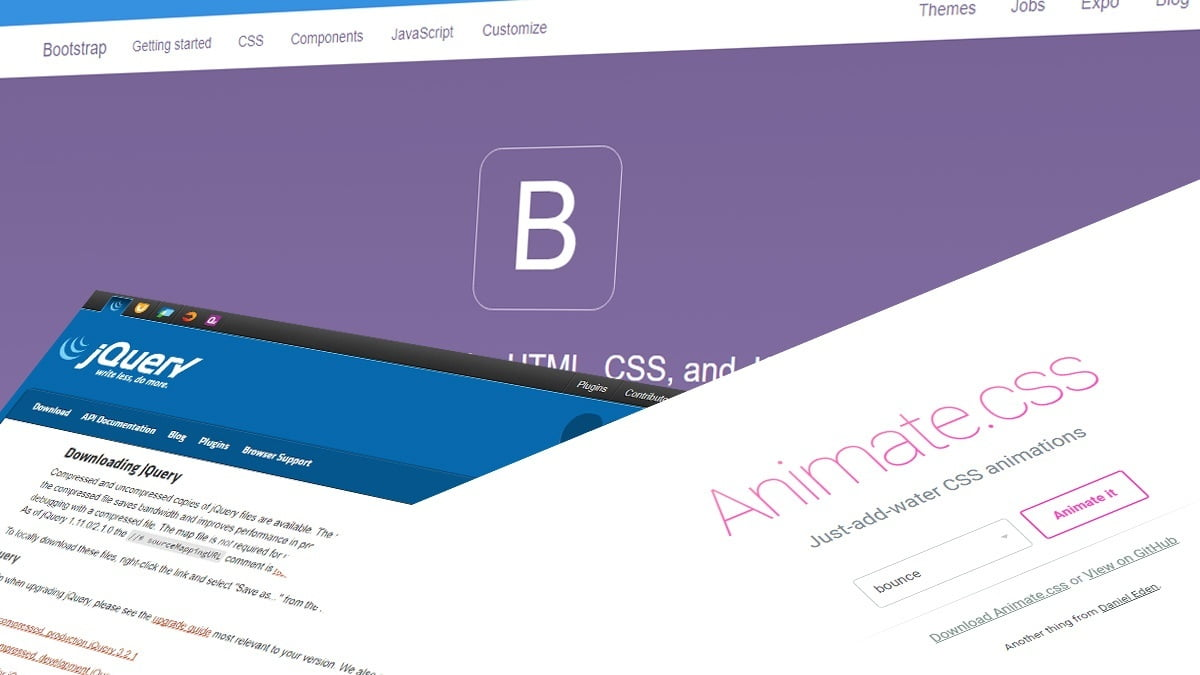 Animasi Navigasi Bootstrap Saat Halaman Website Scroll Kebawah