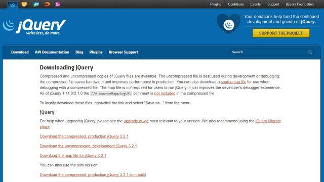 jQuery Javascrip Library