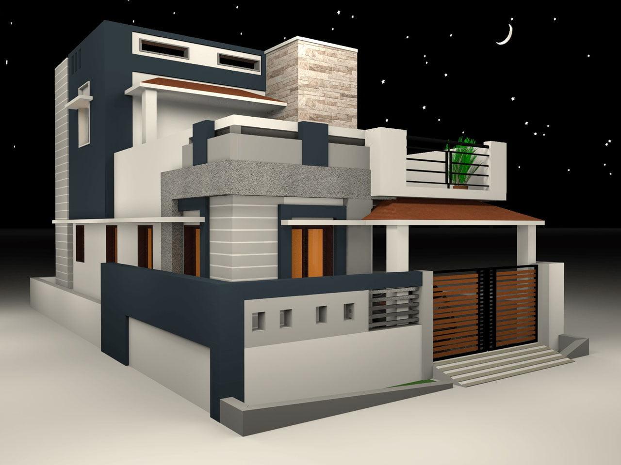 Desain Rumah Minimalis & Desain Rumah Minimalis \u2022 Home Design Software Gratis Terbaik