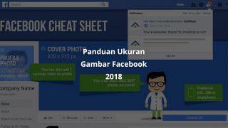 Infografis Facebook Ukuran Gambar 2018