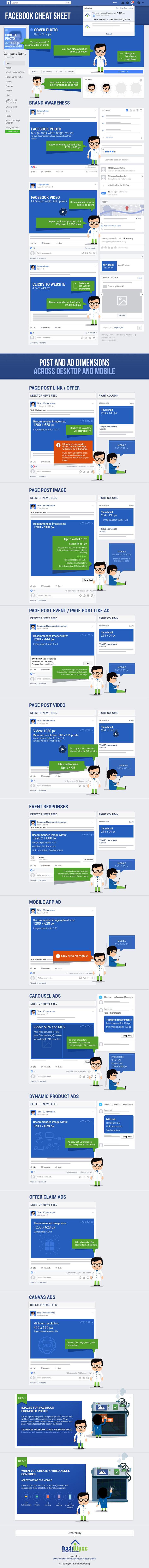 Panduan Ukuran Gambar Facebook 2018