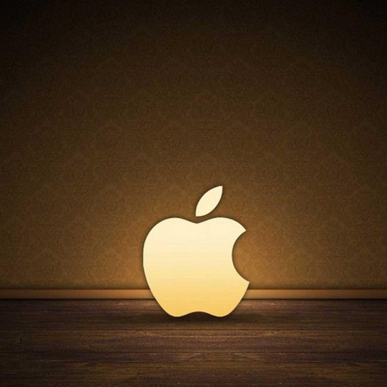 apple logo ipad wallpaper