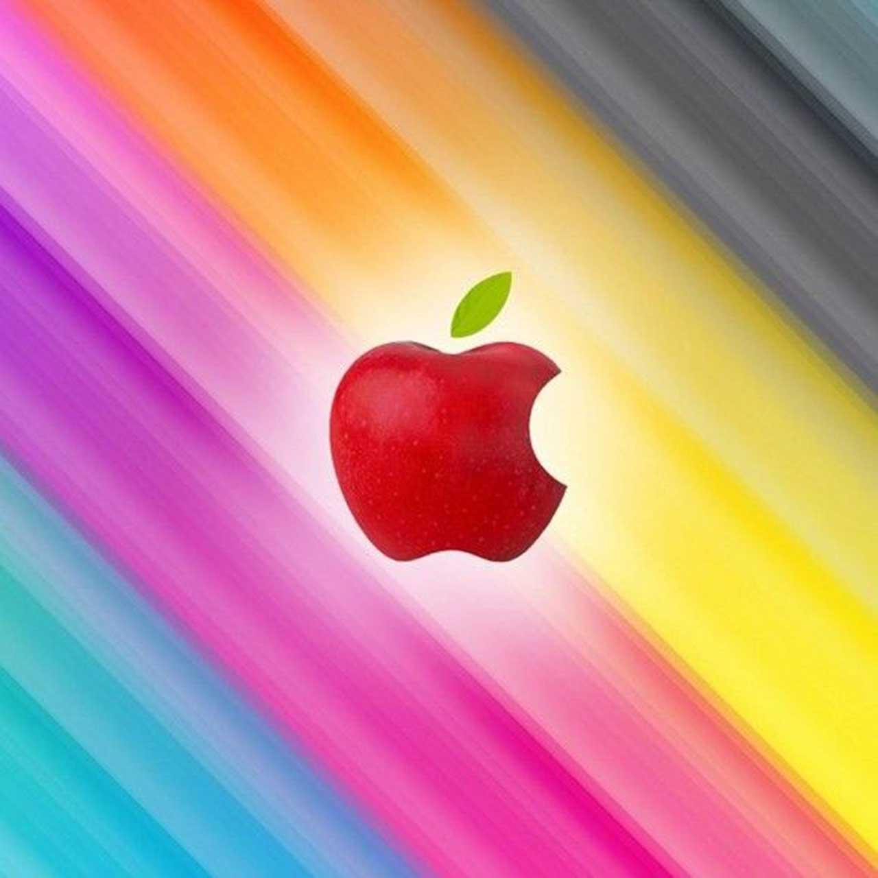 apple logo ipad