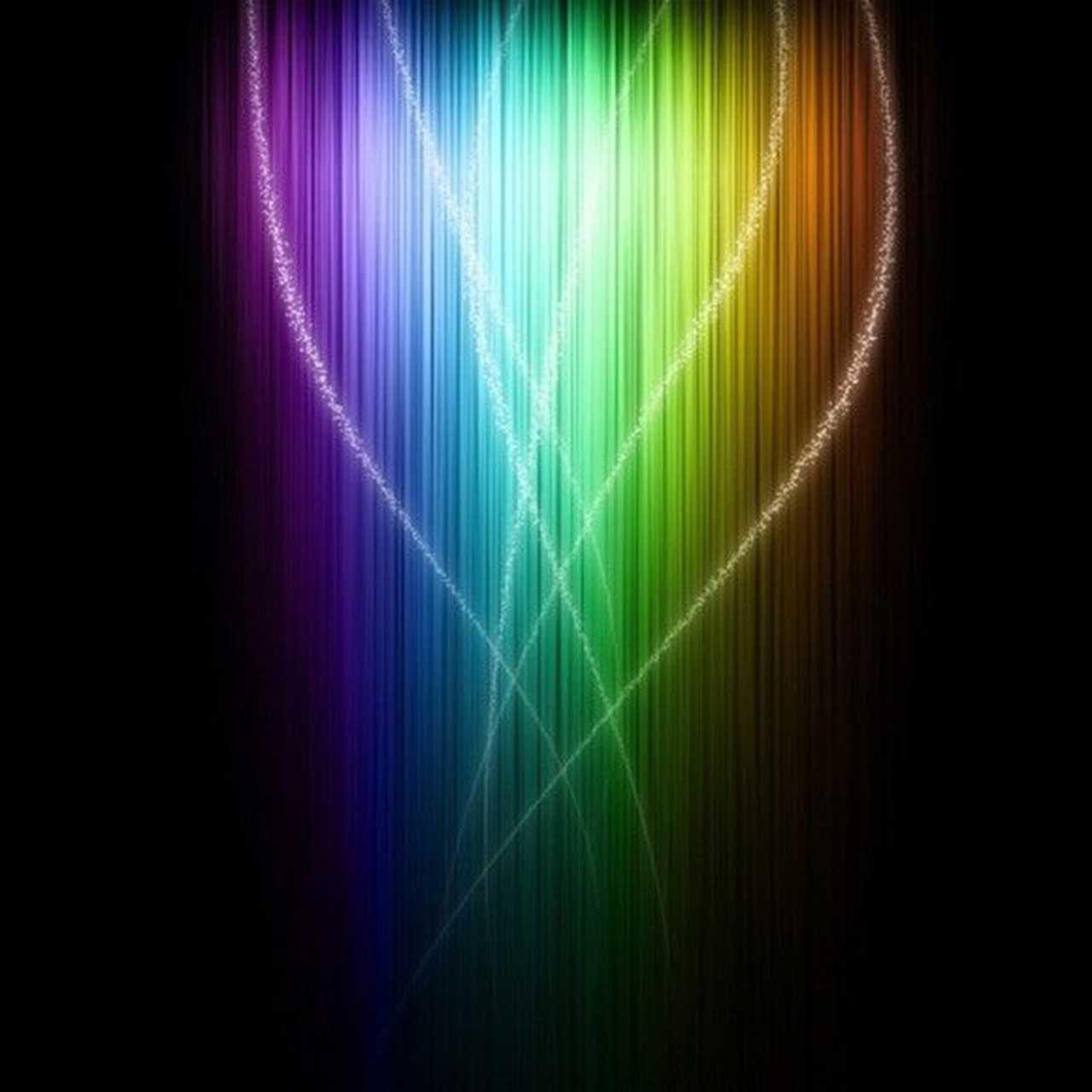 wallpaper color light swirls