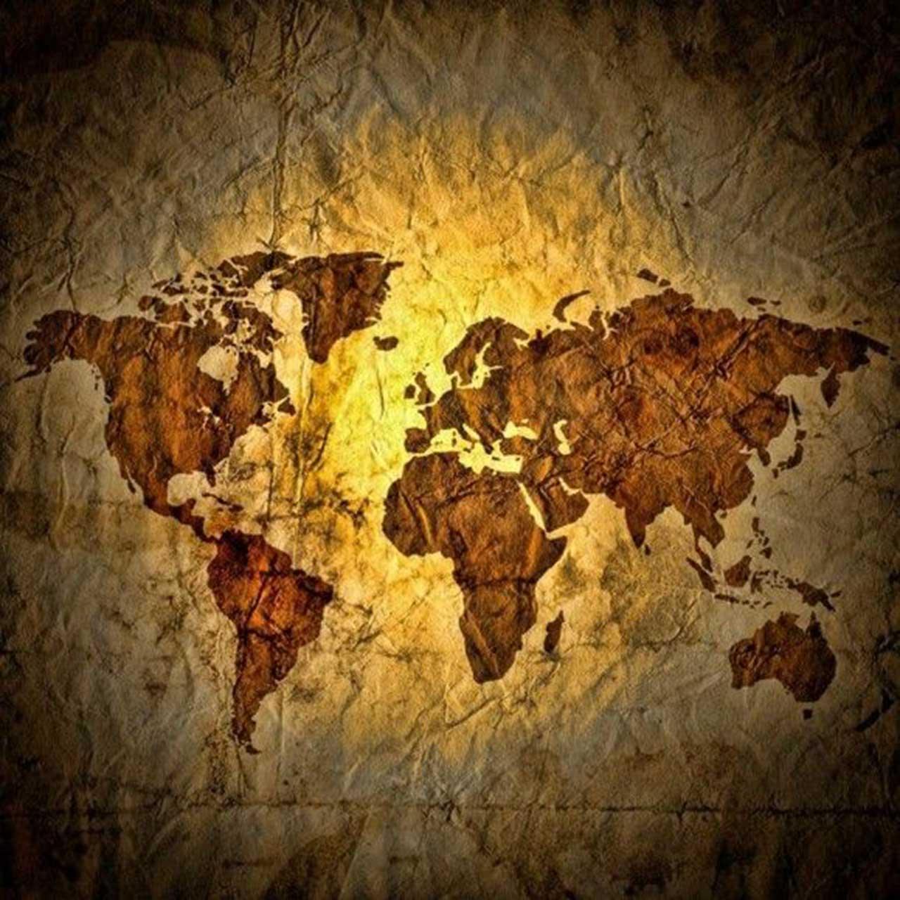 tatter world map wallpaper