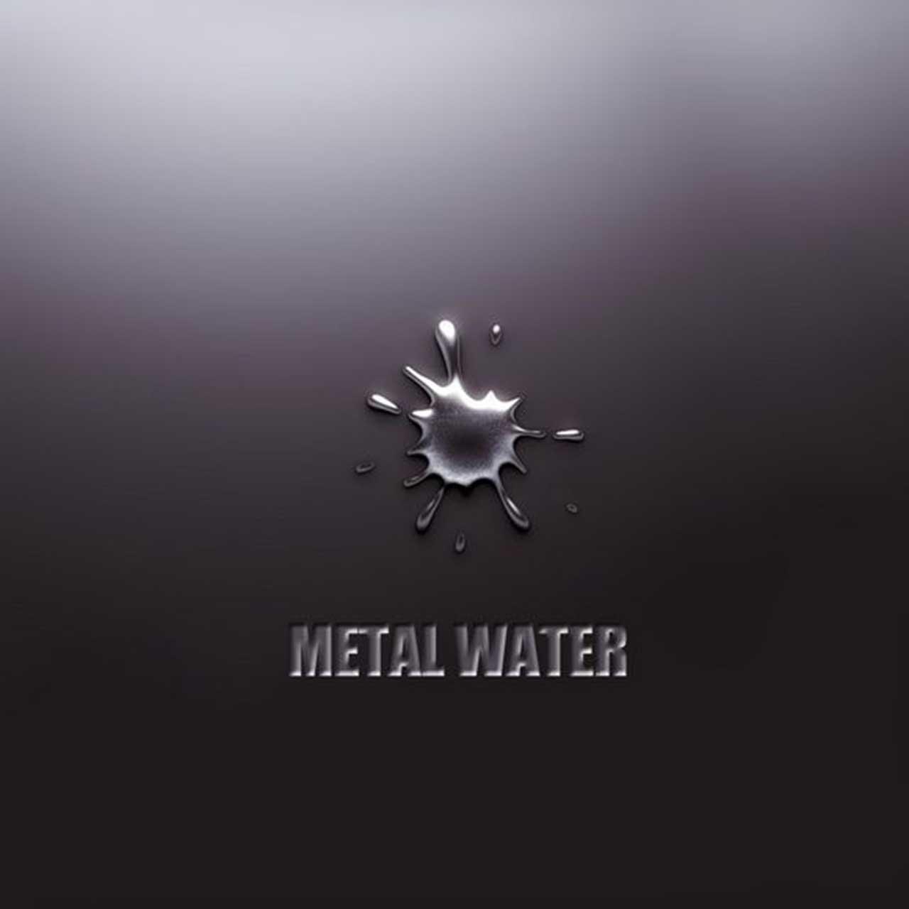 metal water wallpaper